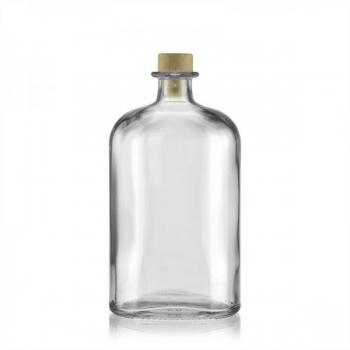 Klaaspudel 500ml Dundee läbipaistev