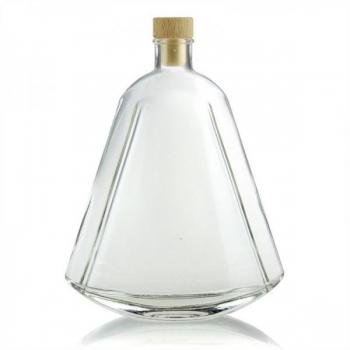 Klaaspudel 500ml Maurizio läbipaistev