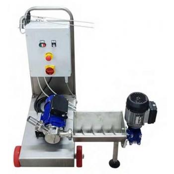 Purustatud massi pump tiguvanniga EURO 40 + mahuandur