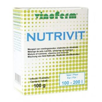 Pärmi toitaine nutrivit Vinoferm 100g, säilivus 28.01.2021