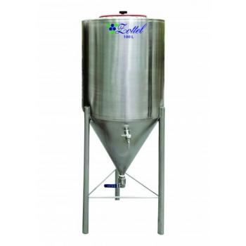 Fermenteerimise ja käärituse mahuti 380l, roostevaba