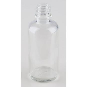 Klaaspudel Apteek 50ml läbipaistev 18mm korgile