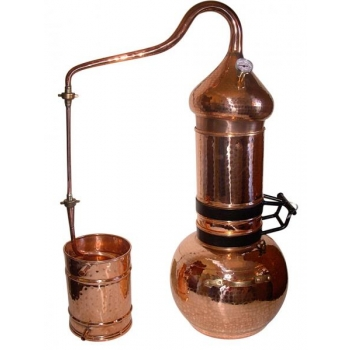 Destilaator 10L Alembric Flip Top, termomeetriga