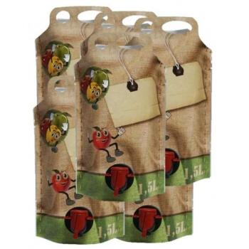 Säilituskott 1,5l püstine pouch-up (+80C) hulgimüük 340tk/kast