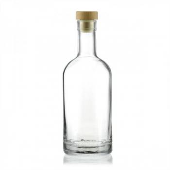 Klaaspudel 500ml Franco läbipaistev