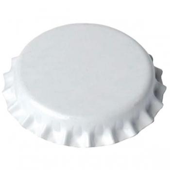 Kroonkork 29mm valge 1000tk 4bar