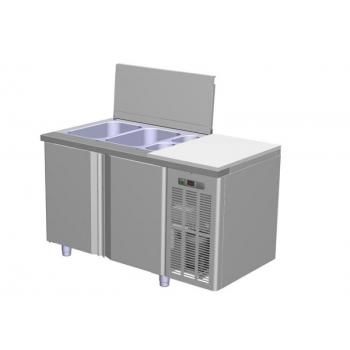 Külmkapp ja töötasapind salatitele TM2 265L