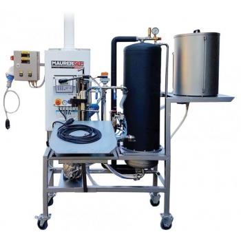 Pastörisaator-pudelivillija mkpag 300l/h 2-villijat