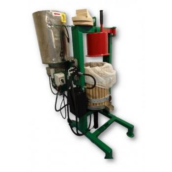 Hüdropress 30l 300kg/h, roostevaba purustajaga