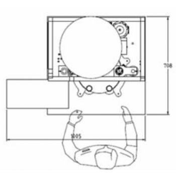 Multiblokk FILL MILK: pool-automaatne villija-dosaator, korkija