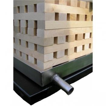 Pakkpressi tarvik: puitrest 430x430mm