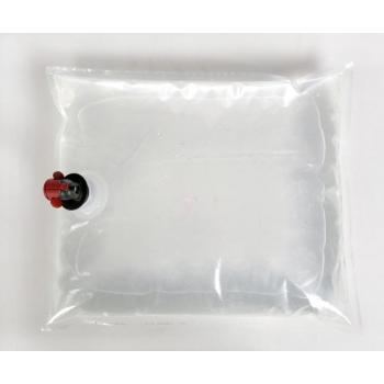 Säilituskott 10l läbipaistev, ventiil keskel