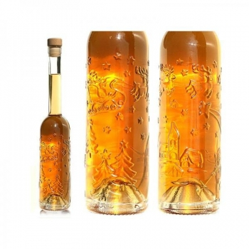 Klaaspudel 350ml Edition one läbipaistev