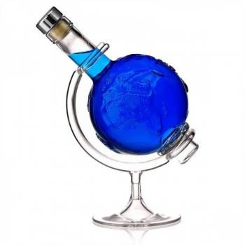 Klaaspudel 500ml Globus läbipaistev