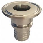 Klamber-liitmik DIN 32676 D50,5mm 25mm voolikule