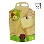 Säilituskott 3l püstine pouch-up (temp.taluvus +80C)