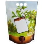 Säilituskott 3l püstine pouch-up, mahl/siider (ainult hulgimüük 4200tk)
