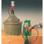 Villija & käsipump, pudelite villimiseks