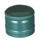 Metallkork 31,5x24mm keermestamata 1000tk, roheline