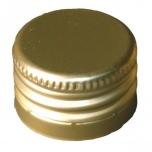Metallkork 28x18mm keermestatud 1000tk, kuld