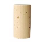 Veinikork 24x45mm 100tk kvalit.3, naturaalne silikoniseeritud