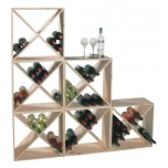 Veiniriiul 24-pudelile 48x48x23cm
