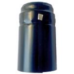 Termokahanev kapsel must/läikiv Ø31x55mm 1000tk t.ribaga