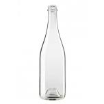 Klaaspudel 750ml Champagne-sekt 640g 29mm 1232tk, läbipaistev