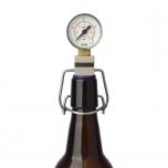 Afromeeter & CO2 rõhumõõtja 0-2,5bar, traatkorgiga pudelitele