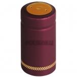 Termokahanev ehk termokapsel bordeaux Ø31x60mm 100tk