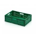 Kast 60x40x17cm perfo kokkupandav, roheline