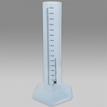 Mõõtesilinder & mensuur 150ml kalibreeritud, plast