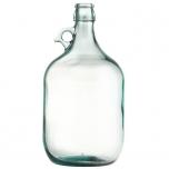 Klaaspudel 5l Demijohn + traatkork