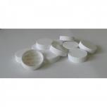 Plastpudeli kork Apteek 38mm, valge kleebisega 100tk