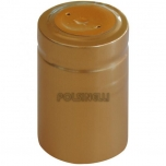 Termokahanev kapsel kuldne Ø33x53mm 100tk