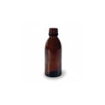 Klaaspudel Apteek 65ml 22mm, pruun