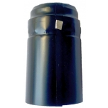 Termokahanev kapsel must/läikiv Ø31x55mm 100tk t.ribaga