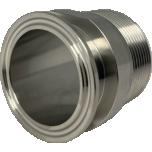 "Klamber-liitmik DIN 32676 D64mm üleminek 2"" VK"