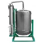 Veeaurudestilaator, õliekstraktor Warmer 1500L