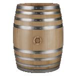 Tammevaat 225l vein/alkohol, Slavoonia tamm