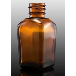 Klaaspudel Apteek 20ml kandiline, pruun 18mm korgile