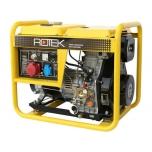 Diiselgeneraator Rotek 400V 50Hz, väljund 230V/1,8kw, 400V/5,7kw