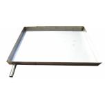 Pakkpressi tarvik: roostevaba vann 490x490x50mm