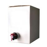 Säilituskoti karp 10l, hall/valge 690g/m2