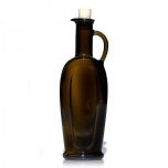 Klaas-Õlipudel 250ml Eleganta matt/must