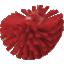 Mahuti pesuhari Vikant 205x130mm tugev, punane