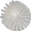 Käsipesuhari Vikant 135mm keskmine, valge