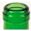 Klaastaara & veinipudel 750ml, burgundy roheline (1350tk/alusel)